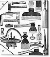 Hand Tools, 1876 Acrylic Print