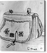 Handbag Acrylic Print