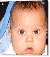 Handsome Baby Boy Acrylic Print