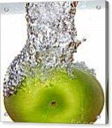 Handy Green Apple Acrylic Print