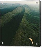 Hang Glider Over Massanutten Mountain Acrylic Print