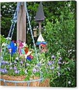 Hanging Basket  Acrylic Print