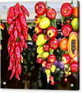 Hanging Food Acrylic Print