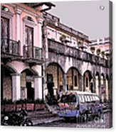 Hanging Out In Granada  Acrylic Print