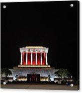 Hanoi Ho Chi Minh Mausoleum Acrylic Print