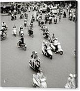 Hanoi Traffic Acrylic Print