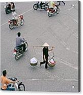 Hanoi Woman Acrylic Print