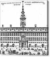 Hanseatic League, 1563 Acrylic Print