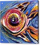 Happified Swirl Fish Acrylic Print