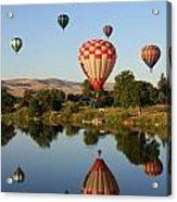 Happy Balloon Day Acrylic Print