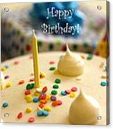 Happy Birthday Acrylic Print