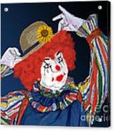 Happy Clown Acrylic Print
