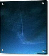 Happy Contrails To You Acrylic Print