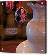 Happy Easter Poster Acrylic Print
