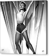Happy Go Lovely, Vera-ellen, 1951 Acrylic Print by Everett