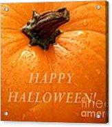 Happy Halloween Acrylic Print