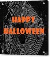 Happy Halloween Web  Acrylic Print