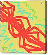 Happy Helix Radiates Energy Acrylic Print