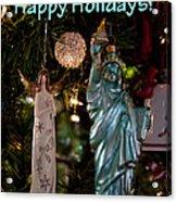 Happy Holidays To All My Friends On Fine Art America Acrylic Print