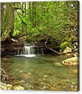 Happy Trail Falls Acrylic Print