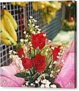 Happy Valentine's Day From Thailand Acrylic Print