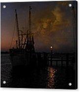 Harbor At Dusk Acrylic Print