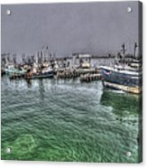 Harbor Dawn Acrylic Print