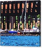 Harbor Docks Acrylic Print