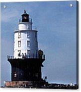 Harbor Of Refuge Lighthouse Acrylic Print