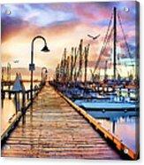 Harbor Town Acrylic Print