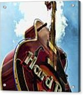 Hard Rock Guitar Acrylic Print