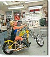 Harley Country Acrylic Print