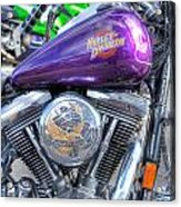 Harley Davidson 3 Acrylic Print