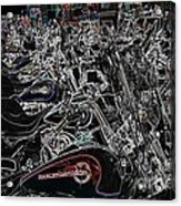 Harley Davidson Style Acrylic Print
