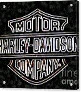 Harley Sign Acrylic Print