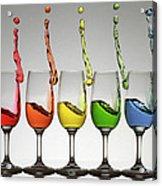 Harmonic Cheers Acrylic Print