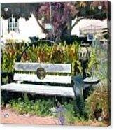 Harmony Gallery Garden Acrylic Print