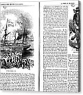 Harpers Magazine, 1861 Acrylic Print
