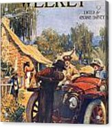 Harpers Weekly, 1913 Acrylic Print