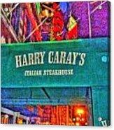 Harry Caray's Acrylic Print