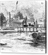 Hartford, 1853 Acrylic Print