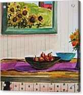 Harvest Table Acrylic Print