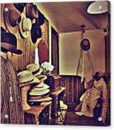 Hat Room Acrylic Print
