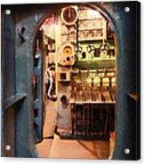 Hatch In Submarine Acrylic Print