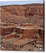 Hatshepsuts Mortuary Temple Acrylic Print by Kenneth Garrett