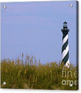 Hatteras Light Over The Dunes Acrylic Print