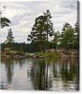 Haukkajarvi Panorama Acrylic Print