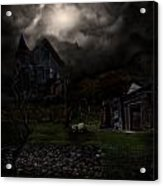 Haunted House Acrylic Print