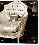 Have A Chair Acrylic Print