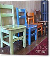 Have A Seat Acrylic Print